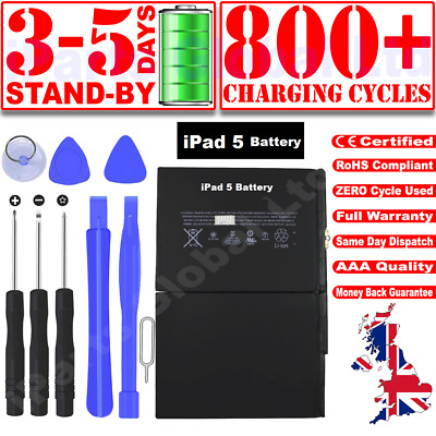 £13.99 • Buy OEM GENUINE Replacement Battery For IPad 5 / IPad Air1 8827mah A1484 A1474 1475