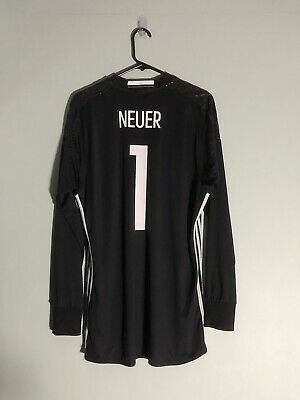 £60 • Buy Neuer #1 Germany WC 2018 Large Home Goalkeeper Shirt Adidas Excellent Condition