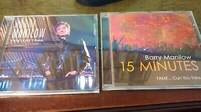 £3.99 • Buy BARRY MANILOW * 15 MINUTES & This Is My Town - 26 Tracks 2cds