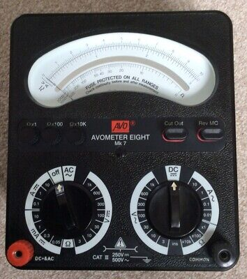 £15 • Buy AVOMETER Model 8 MK 7 Fully Functioning, Clean Example Local Collect WD3 3LY