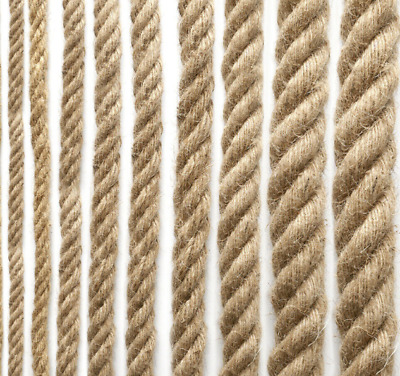 £1.10 • Buy 100% Natural Jute Hessian Twisted Rope Strand Cord Braided Decking Boat Garden
