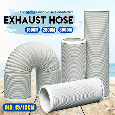 AU19 • Buy 13/15cm Dia Exhaust Hose Tube For Midea Portable Air Conditioner Cooling Cooler