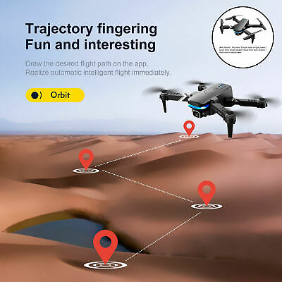 AU35.32 • Buy KY910 Foldable Drones With WiFi Remote Control For Adults Indoor Outdoor
