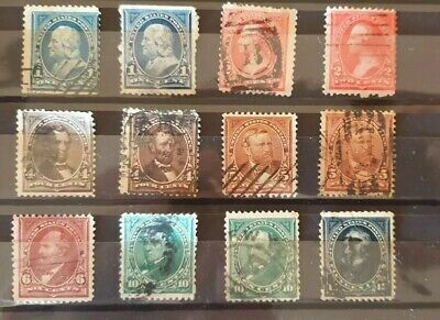 AU18 • Buy USA Stamps 1894 Issues No Watermark, Used