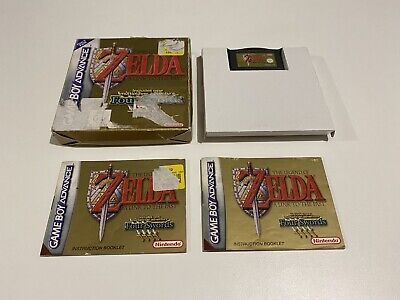 AU129.95 • Buy The Legend Of Zelda: A Link To The Past Four Swords GameBoy Advance Complete