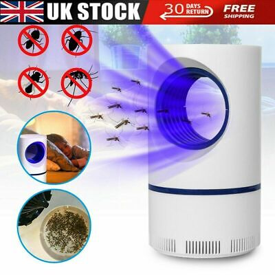£9.19 • Buy Electric Insect Mosquito Fly Killer Bug Zapper UV Indoor Pest Catcher Trap Lamp
