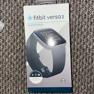 £87 • Buy Fitbit Versa 2 Smart Watch Activity Tracker - Black, Boxed And New