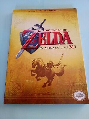 AU55 • Buy THE LEGEND OF ZELDA, OCARINA OF TIME 3D, Strategy Guide VGC. Poster Included