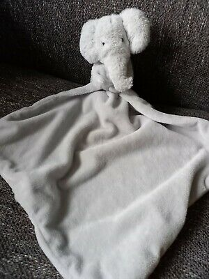 £17.50 • Buy MOTHERCARE GREY SNUGGLE ELEPHANT COMFORTER Ex Con 1st Class Post