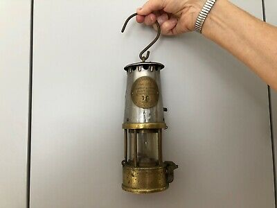 £89 • Buy Miners Protector Lamp Eccles Original Old Grs  Ministry Of Power 15 Brass Oil Vg