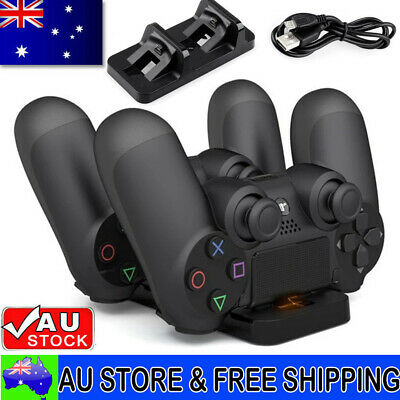 AU15.89 • Buy For PS4 Charger Controller Dual Charging Dock Stand USB Base For PlayStation 4