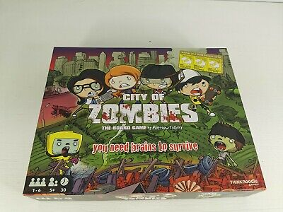 £25 • Buy City Of Zombies The Board Game 100 % Complete
