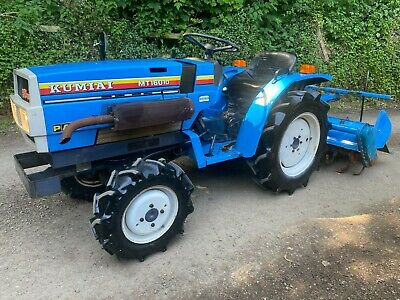 £3595 • Buy MITSUBISHI MT1601D 4WD Compact Tractor With Rotavator *** WATCH VIDEO ***