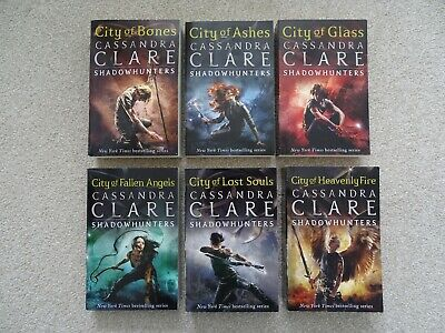 £8 • Buy Set Of 6 Books - Cassandra Clare The Mortal Instruments Shadowhunters Paperback