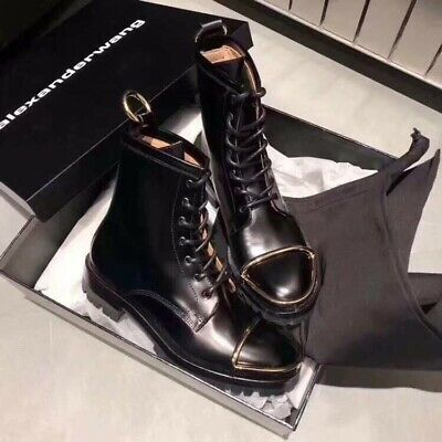 AU730 • Buy Authentic Brand New In Box Alexander Wang Boots Shoes Booties Size36.5