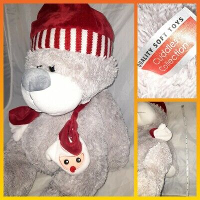 £14.54 • Buy Large Cuddles Collection Teddy Bear Plush Soft Toy Card Factory Christmas Xmas