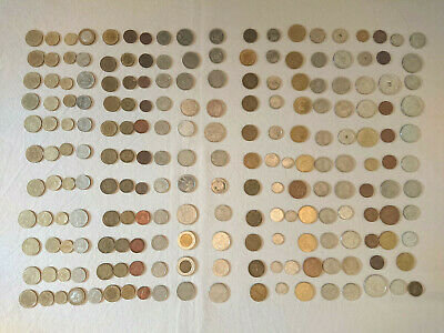 £4 • Buy Assorted Foreign Coins - Batch Of 18 - Free Postage