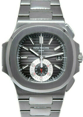 £115592.27 • Buy Patek Philippe Nautilus 5980 Chronograph Steel Watch Box/Archive Papers 5980/1A