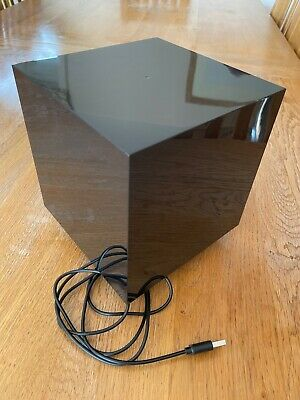 £10 • Buy Paladone Infinity Cube Galactic Sound Reactive Light - Black With White Lights.