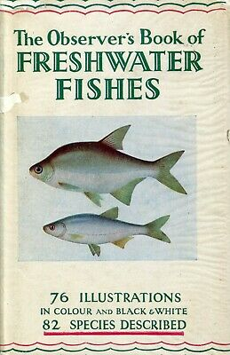 £2.99 • Buy The Observer's Book Of Freshwater Fishes