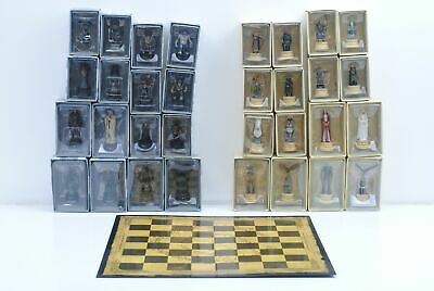 £180 • Buy Lord Of The Rings Eaglemoss Chess Set 2 Complete With Board