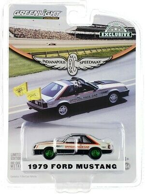 AU16.84 • Buy Chase 1979 FORD MUSTANG PACE CAR 63RD INDIANAPOLIS 1/64 GREENLIGHT 30166