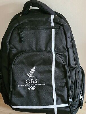 £39.99 • Buy Original LONDON 2012 OLYMPIC BROADCASTING SERVICES Games OBS BACKPACK - NEW