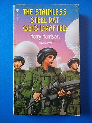 £3 • Buy The Stainless Steel Rat Gets Drafted, By Harry Harrison - Paperback, Bantam 1988