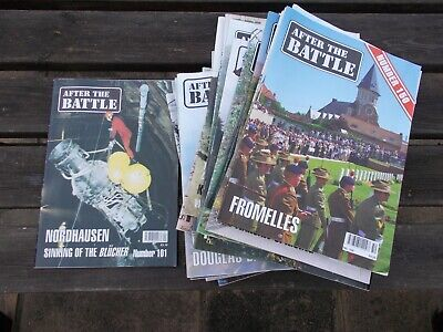 £5.99 • Buy WWII After The Battle Magazines X 50, Issues 101-150 (lot 3)