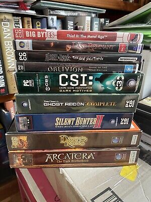AU250 • Buy Nine Old PC Role Playing Games In Original Boxes