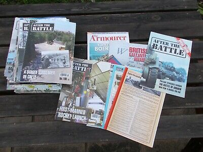 £5.99 • Buy WWII After The Battle Magazines X 40, Issues 151-189 (lot 4)
