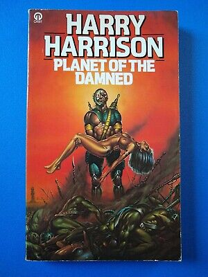 £5 • Buy Planet Of The Damned, By Harry Harrison - Orbit, 1980, Alan Craddock Cover Art