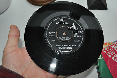 £1 • Buy Herman's Hermits - There's A Kind Of Hush - 7 Inch Single