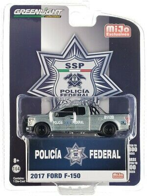 AU4.38 • Buy Chase 2017 FORD F-150 POLICIA FEDERAL DE MEXICO POLICE 1/64 GREENLIGHT 51380