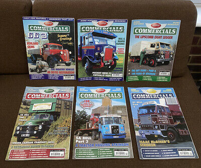 £12 • Buy Heritage Commercials Magazines - 6 X 2007 Issues