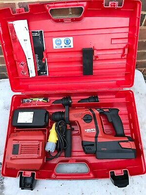 £380 • Buy New Hilti TE 6-A36 Cordless Hammer Drill +110v Charger + 2 Batteries Mint Unit