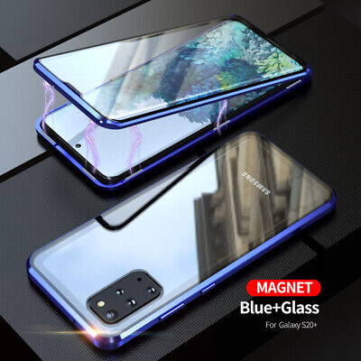 AU11.02 • Buy 360° Tempered Glass Magnetic Phone Case For Samsung S8 S9 S10 S20 S21 A50 A32 5G