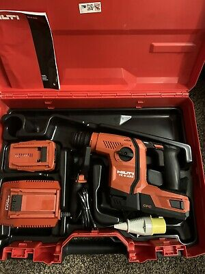 £650 • Buy Hilti TE 6-A22 Cordless Hammer Drill New. Kit , 2 Batteries And Battery Charger