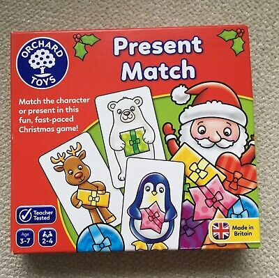 £9.95 • Buy PRESENT MATCH GAME  -  Orchard Toys Christmas