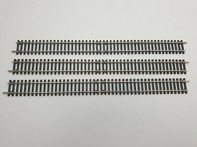 £9.95 • Buy Hornby R601 Double Straight Track Pieces X 3 OO Gauge 1:76 Scale