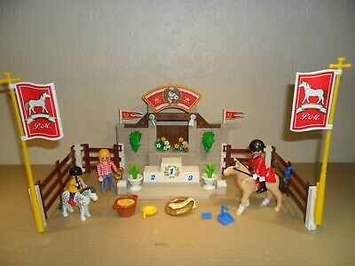 £9.99 • Buy PLAYMOBIL HORSE SHOW WINNERS PODIUM (stable,Farm,Show Jumping)