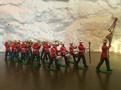 £16.89 • Buy Britains Eyes Right Marching Brass Band Toy Plastic Soldiers X19