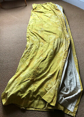 £34.50 • Buy Vintage 60s 70s Curtains
