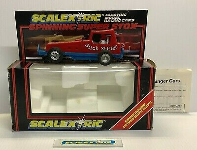 £4.99 • Buy SCALEXTRIC VINTAGE 1981/83 C285 SUPER STOX 'Stick Shifter' (BOXED) 360° Spin