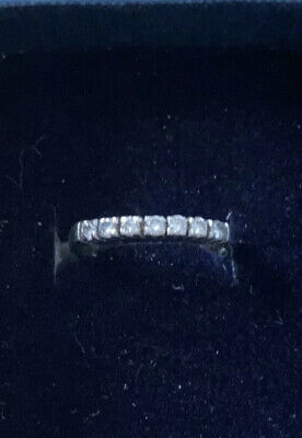£299 • Buy Platinum Brilliant Cut Diamond Eternity Ring With Certified Value£1070 Size M 7