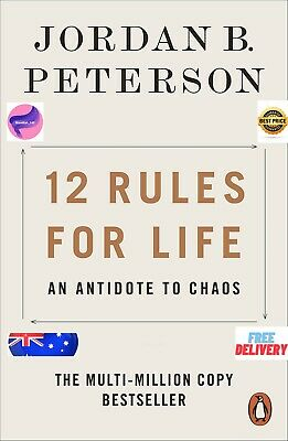 AU14.97 • Buy NEW 12 Rules For Life 2019 By Jordan B. Peterson Paperback Book   FREE SHIPPING