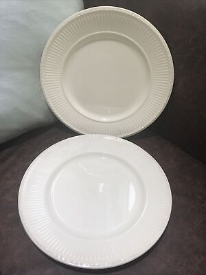 £15.99 • Buy Wedgwood - Queens Ware - EDME - Pair Of Dinner Plates - 10.5  Dia