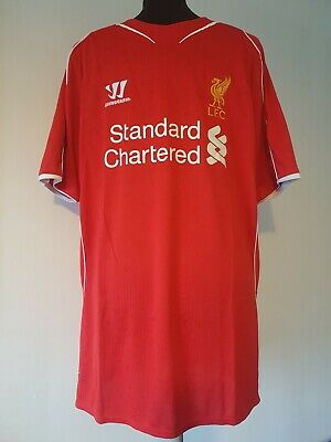 £24.99 • Buy Official Liverpool Home Football Shirt By Warrior Size Adult Gb Large
