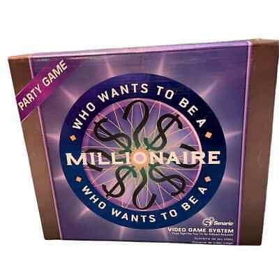 £12.19 • Buy Vintage Who Wants To Be A Millionaire Video Game System Plug & Play 2006
