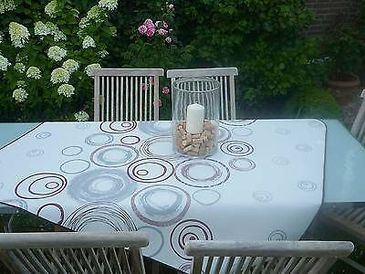 £14.82 • Buy Tablecloth Provence 130x150 CM Cream From France Easy-Care Non-Iron
